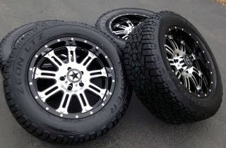 Custom Wheels, Rims and Tires